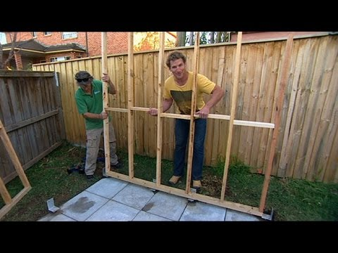 How To Build Your Own Garden Shed