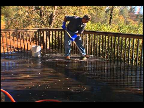 Deck Refinishing – A Detailed Tutorial Video