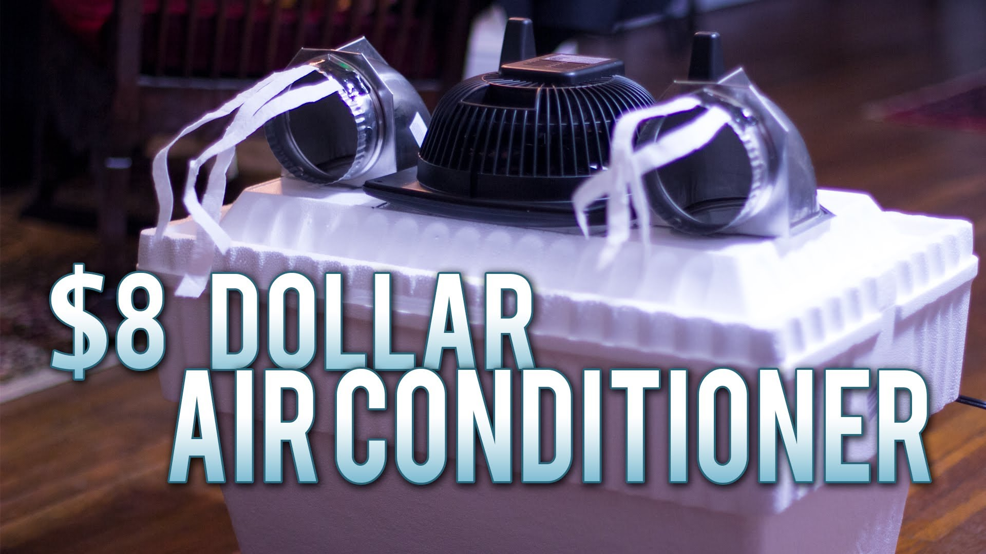 How To Make An $8 Homemade Air Conditioner – Works Flawlessly!