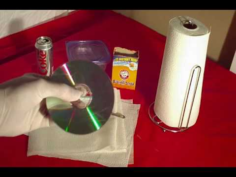 How to Remove Scratches From Any DVD