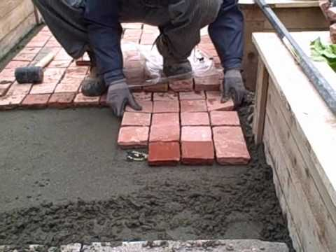 Installing Cobblestone Patio Pavers in the Front Yard Urban Edible Garden