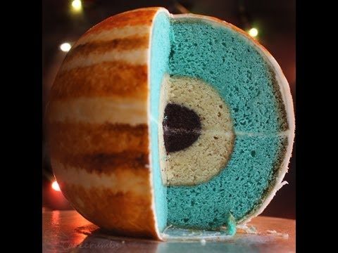 Spherical Concencentric Layer Cake Tutorial