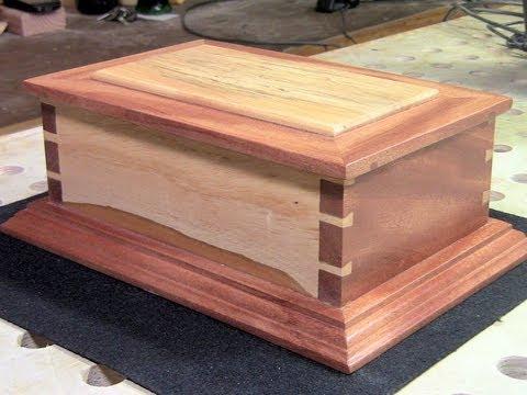 Making a Hand Cut Dovetail Box